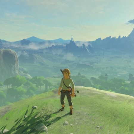 Screenshot from The Legend of Zelda: Breath of the Wild